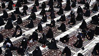 عزاداری ماه محرم در شهر ری، ایران