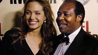 Paul Rusesabagina ile Angelina Jolie