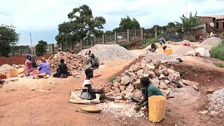 The Ugandan Slum Dwellers Facing Health Hazards From Crushing Stones