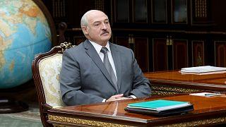 Alexandre Loukachenko à Minsk le 31 août 2020