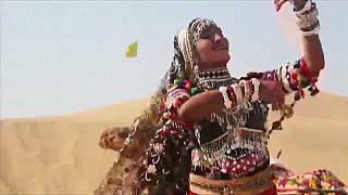 راقصات راجستان الهندية