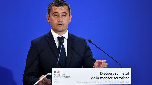 Fransa İçişleri Bakanı Gerald Darmanin