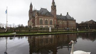 محكمة العدل الدولية في مدينة لاهاي الهولندية