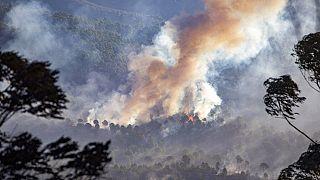 Европа: пожары и наводнения