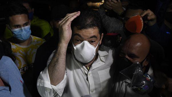 Roberto Marrero, jefe de despacho y mano derecha de Juan Guaidó, sale del Helicoide