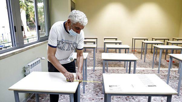 Koronavírus: készülnek az iskolakezdésre az olaszok