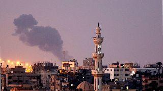 İsrail'den Gazze'ye hava saldırısı / Arşiv
