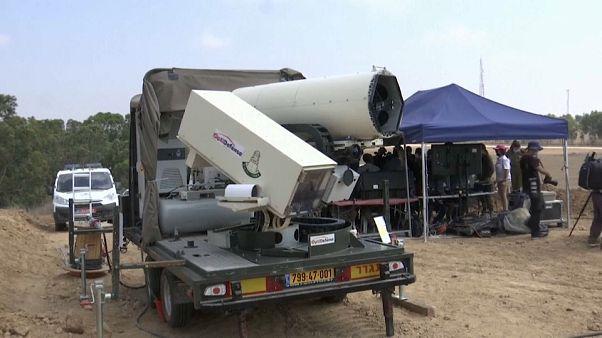 Israel: Laserkanone gegen Brandballons der Hamas