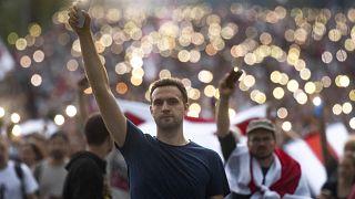 مظاهرات في العاصمة مينسك تطالب برحيل الرئيس ألكسندر لوكاشينكو