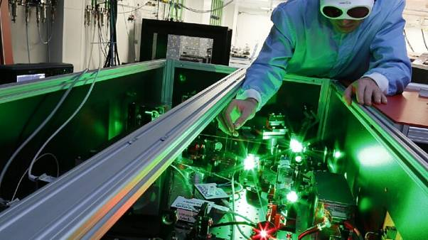 When finished, the laser could be the largest in the world.