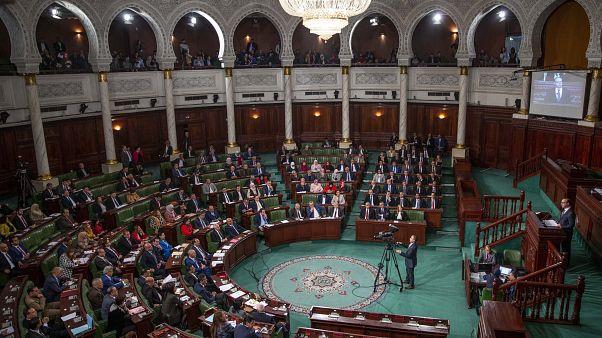 مشهد لمجلس نواب الشعب في تونس/2020/02/26