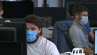Employees at a Paris startup 'Yoopies' have been told to wear masks in open office spaces before rules from the Labour ministry were adapted.