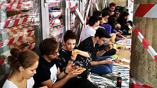 Elfoglalták diákok az SZFE Vas utcai épületét