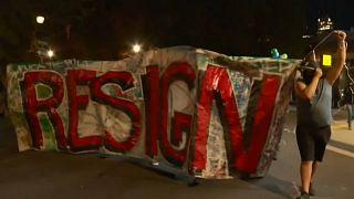 تصاویری از آخرین تظاهرات ضدنژادپرستی در پورتلند آمریکا