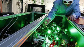 Una volta finito, il laser potrebbe essere il più grande del mondo