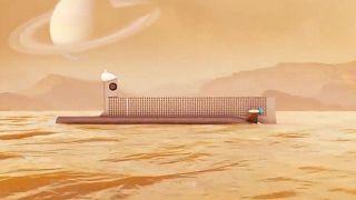 زیر دریایی فضایی