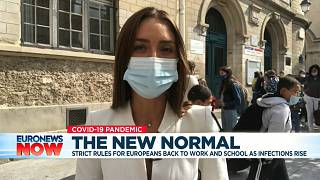Euronews international correspondent Anelise Borges reports from outside a school in Paris.