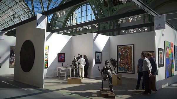 Art Paris spring fair finally goes ahead at Grand Palais des Champs-Élysées