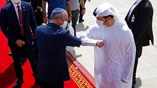 دیدار مقامهای رسمی اسرائیل و امارات
