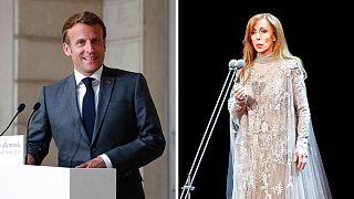 فیروز، خواننده لبنانی و رئیسجمهوری فرانسه