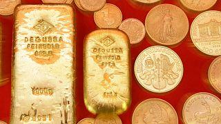 El oro luce más que nunca
