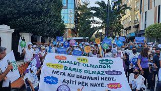 HDP barış mitingi