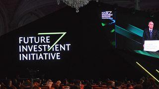 منتدى مبادرة الاستثمار المستقبلي (FII) في مركز الملك عبد العزيز للمؤتمرات في العاصمة السعودية الرياض. 2019