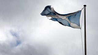 پرچم اسکاتلند