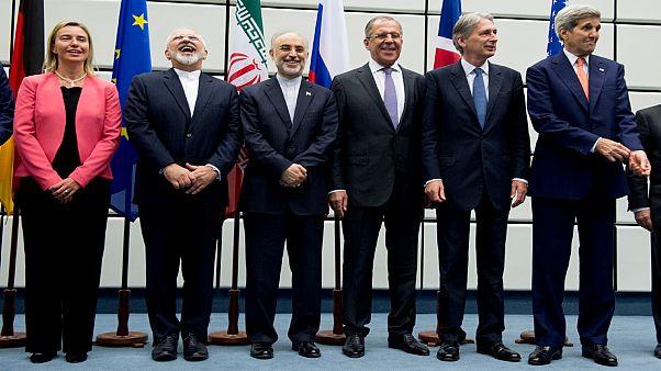 الموقعون على الاتفاق النووي مع إيران