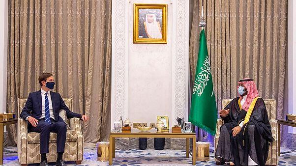 السعودية نيوز |      مستشار الرئيس الأمريكي وصهرة جاريد كوشنر يلتقي ولي عهد السعودية في الرياض