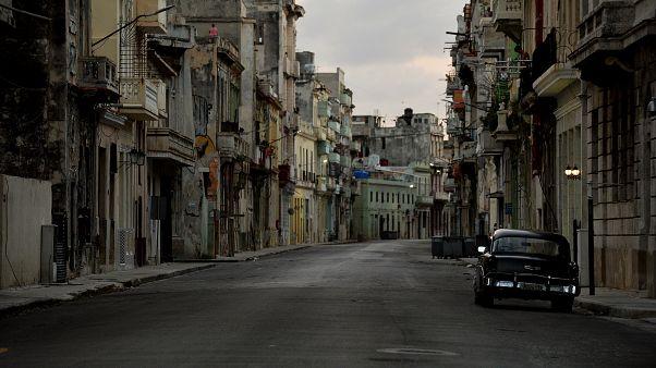 Isoliert von der Außenwelt - strenge Ausgangssperre in Havanna