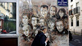 Christian Guemy'nin eserinde Charlie Hebdo saldırısında hayatını kaybedenler