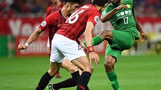 Football: Congo's Cedric Bakambu Scores Four in Beijing Guoan Rout