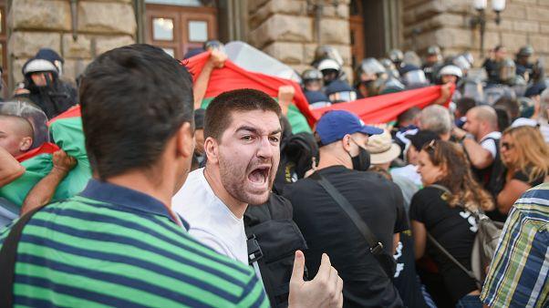 Kundgebung in Bulgarien