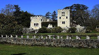 Una fotografía del Pazo de Meirás en Galicia, España.