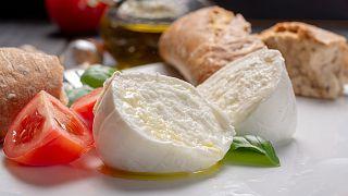 The world's favourite cheese, mozzarella.
