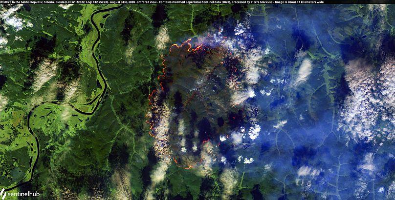 Contiene datos modificados del Copernicus Sentinel [2020], procesados por Pierre Markuse