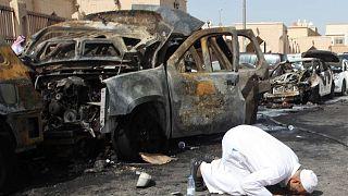 تفجير انتحاري استهدف مسجد العنود الشيعي في مدينة الدمام الساحلية السعودية، 29 مايو 2015.