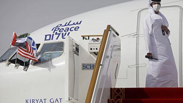 Birleşik Arap Emirlikleri ve İsrail arasında imzalanan normalleşme anlaşması sonrası doğrudan uçuşlar başlıyor