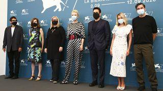 Jury unter der Leitung von Cate Blanchett