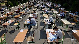 Özbekistan üniversite sınavı