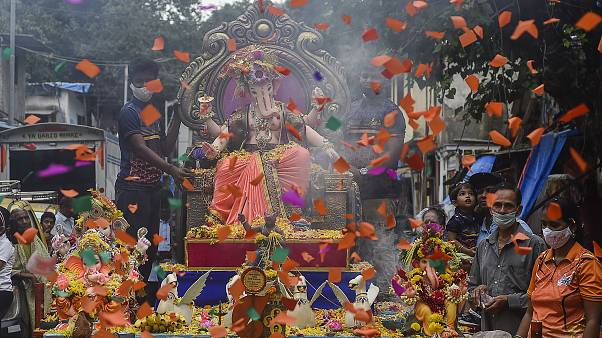 Mumbai: Hindus feiern Ganesh Chaturthi