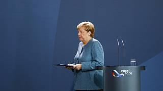 Angela Merkel in Berlin