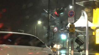 Corea del Sud: forti piogge e venti colpiscono la costa, arriva il tifone