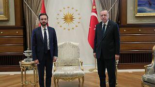AİHM Başkanı Robert Spano, Cumhurbaşkanı Erdoğan ile bir araya geldi.