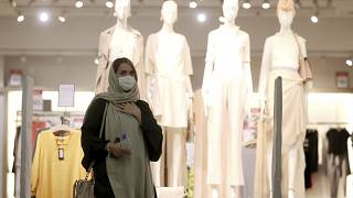 Frau in der iranischen Hauptstadt Teheran