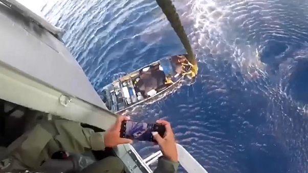 Marinha mexicana apreende 2 960kg de droga em alto mar