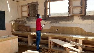 Senegal teacher crowdfunds school rebuild