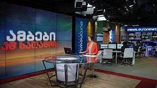 Euronews Georgia began broadcasting on August 31 2020