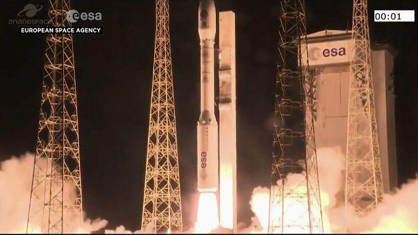 Il lancio del razzo Vega
